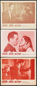 "Movie Posters:Film Noir, The Big Sleep (Warner Brothers and Dominant, R-1954 and R-1956). Lobby Cards (3) (11"" X 14""). Film Noir.. ... (Total: 3 Items)"