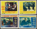 "Movie Posters:War, The Caine Mutiny Lot (Columbia, 1954). Lobby Cards (4) (11"" X 14"").War.. ... (Total: 4 Items)"