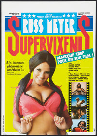 "Supervixens (RM Films, 1975). French Petite (15.75"" X 22.25""). Adult"