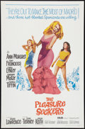 """Movie Posters:Comedy, The Pleasure Seekers Lot (20th Century Fox, 1965). One Sheet (27"""" X41"""") and Pressbook (Multiple Pages, 12"""" X 18""""). Comedy.... (Total:2 Items)"""