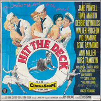 "Hit the Deck (MGM, 1955). Six Sheet (81"" X 81""). Musical"