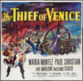 "Movie Posters:Adventure, The Thief of Venice (20th Century Fox, 1952). Six Sheet (81"" X81""). Adventure.. ..."