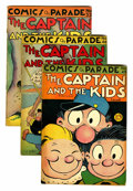 Golden Age (1938-1955):Miscellaneous, Comics On Parade/Katzenjammer Kids Related Group (United Features Syndicate, 1940s) Condition: Average GD.... (Total: 14 Comic Books)
