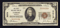 National Bank Notes:Missouri, Tarkio, MO - $20 1929 Ty. 1 The First NB Ch. # 3079. ...
