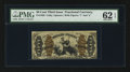 Fractional Currency:Third Issue, Fr. 1363 50¢ Third Issue Justice. PMG Uncirculated 62 EPQ.. ...