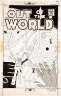 Original Comic Art:Covers, Pat Masulli and Rocco Mastroserio Out of This World #9 CoverOriginal Art (Charlton, 1958). . ...
