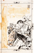 Original Comic Art:Covers, Maurice Whitman Outlaws of the West #14 Cover Original Art(Charlton, 1958)....