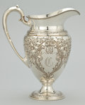 Silver & Vertu:Hollowware, AN AMERICAN SILVER WATER PITCHER . Frank M. Whiting Co., North Attleboro, Massachusetts, circa 1960. Marks: FRANK M. WHITI...