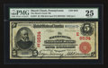 National Bank Notes:Pennsylvania, Mauch Chunk, PA - $5 1902 Red Seal Fr. 587 The Mauch Chunk NB Ch. #(E)6534. ...