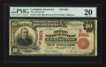 National Bank Notes:Kentucky, Lexington, KY - $10 1902 Red Seal Fr. 613 The Second NB Ch. #(S)2901. ...