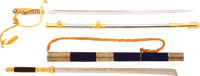 Thai and Nationalist Chinese Swords presented to Gen. Nathan F. Twining, Chairman of the JCS from 1957 - 1960