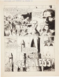 "Original Comic Art:Complete Story, Bernie Wrightson Web of Horror #2 Complete 7-page Story""Breathless"" Original Art (Major Magazines, 1970).... (Total: 8Items)"