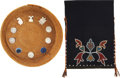 American Indian Art, TWO PRAIRIE ITEMS. c. 1890 and 1905... (Total: 2 Items)