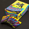 Hockey Cards:Other, 1978 Topps Hockey Counter Display Wax Pack Box With 36 Packs. ...