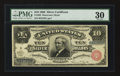Large Size:Silver Certificates, Fr. 292 $10 1886 Silver Certificate PMG Very Fine 30.. ...