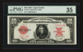 Large Size:Legal Tender Notes, Fr. 123 $10 1923 Legal Tender PMG Choice Very Fine 35.. ...
