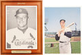 Baseball Cards:Singles (1960-1969), 1960's Roger Maris Oversize Premiums Pair (2). ...