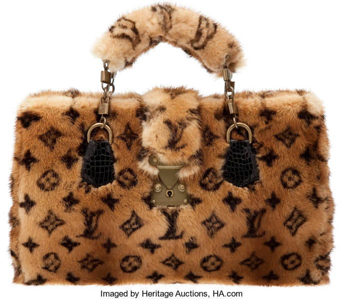 5f1c5ffa07a8 Louis Vuitton Extremely Rare Vison Monogramme Mink and