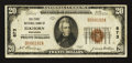 National Bank Notes:Wisconsin, Elkhorn, WI - $20 1929 Ty. 1 The First NB Ch. # 873. ...