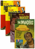 Silver Age (1956-1969):Adventure, The Invaders #1-3 File Copy Group (Gold Key, 1967-68) Condition: Average VF.... (Total: 4 Comic Books)