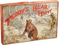 "Political:3D & Other Display (1896-present), Theodore Roosevelt Board Game, ""Teddy's Bear Hunt"", 24"" x17.75"" board in 18.25"" x 12.25"" x 1.75"" box, Bowers & Hard,Br..."