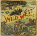 Antiques:Toys, Rare Theodore Roosevelt Themed Wild West Game With Original Box.Manufactured by McLoughlin Brothers, New York, copyright 19...
