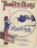 """Political:Small Paper (1896-present), Delightful 1924 """"Teapot Dome"""" Sheet Music. The first we have seen of this great piece of sheet music. """"...I'm blue and all f..."""
