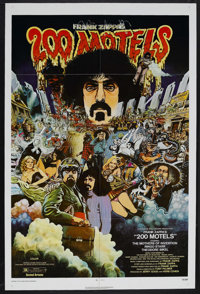 """200 Motels (United Artists, 1971). One Sheet (27"""" X 41""""). Comedy/Fantasy/Musical. Starring Theodore Bikel, Fra..."""