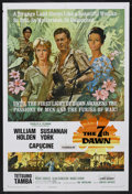 "Movie Posters:War, The 7th Dawn (United Artists, 1964). One Sheet (27"" X 41""). WarAdventure. Starring William Holden, Susannah York, Capucine,..."