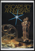"Movie Posters:Academy Award Winner, Academy Awards Poster (AMPAS, 1977). One Sheet (27"" X 41""). ThisAcademy Awards poster is from 1977, the 50th anniversary of..."