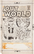 Original Comic Art:Covers, Bill Molno and Vince Alascia Out of This World #15 CoverOriginal Art (Charlton, 1959)....