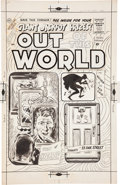Original Comic Art:Covers, Out of This World #13 Cover Original Art (Charlton,1959)....