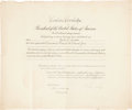"Autographs:U.S. Presidents, Calvin Coolidge Appointment Signed as president. Onepartially-printed page, 23"" x 19"", Washington, September 18, 1928,coun..."