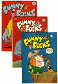 Golden Age (1938-1955):Funny Animal, Funny Folks Group (DC, 1946-50) Condition: Average VG+.... (Total:24 Comic Books)