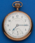 Timepieces:Pocket (post 1900), Burlington 21 Jewel, 16 Size Pocket Watch. ...