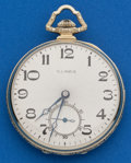 Timepieces:Pocket (post 1900), Illinois 17 Jewel, 12 Size Autocrat. ...