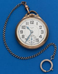 Timepieces:Pocket (post 1900), Elgin 23 Jewel, 16 Size B.W. Raymond. ...