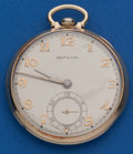 Timepieces:Pocket (post 1900), Hamilton 14k Gold, Grade 917, 12 Size Pocket Watch. ...