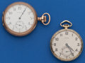 Timepieces:Pocket (post 1900), Two - 12 Size Running Pocket Watches. ... (Total: 2 Items)
