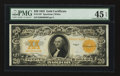 Large Size:Gold Certificates, Fr. 1187 $20 1922 Gold Certificate PMG Choice Extremely Fine 45 EPQ.. ...