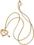 Estate Jewelry:Pendants and Lockets, Gold Pendant-Necklace, Tiffany & Co.. ...