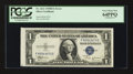 Error Notes:Attached Tabs, Fr. 1611 $1 1935B Silver Certificate. PCGS Very Choice New 64PPQ.....