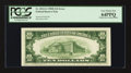 Error Notes:Offsets, Fr. 2012-G $10 1950B Federal Reserve Note. PCGS Very Choice New64PPQ.. ...