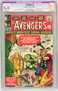 The Avengers #1 (Marvel, 1963) CGC Apparent FN 6.0 Slight (A) Off-white to white pages