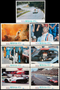 "Le Mans (Towa, 1971). Cinerama Lobby Cards (9) (10.5"" X 14.5""). Sports. ... (Total: 9 Items)"