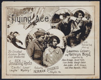 "The Flying Ace (Norman, 1926). Title Lobby Card (11"" X 14""). Black Films"