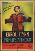 """Movie Posters:Adventure, The Prince and the Pauper (Warner Brothers, 1937). ArgentineanPoster (29"""" X 43""""). Adventure.. ..."""