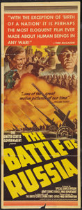 """Movie Posters:War, The Battle of Russia Lot (20th Century Fox, 1943). Insert (14"""" X36"""") and Pressbook (13"""" X 18""""). War.. ... (Total: 2 Items)"""
