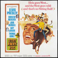 "Movie Posters:Elvis Presley, Stay Away, Joe (MGM, 1968). Six Sheet (81"" X 81""). Elvis Presley.. ..."
