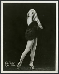 "Sexploitation Stripper Photo Lot (Various, 1930s-1960s). Photos (6) (8"" X 10""). Sexploitation. ... (Total: 6 I..."